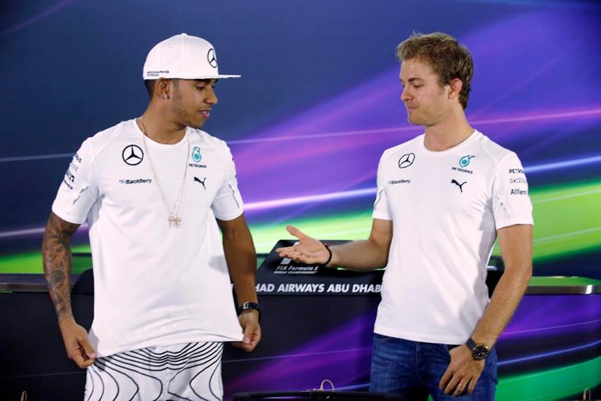 F1 Rosberg Retires Photo Gallery