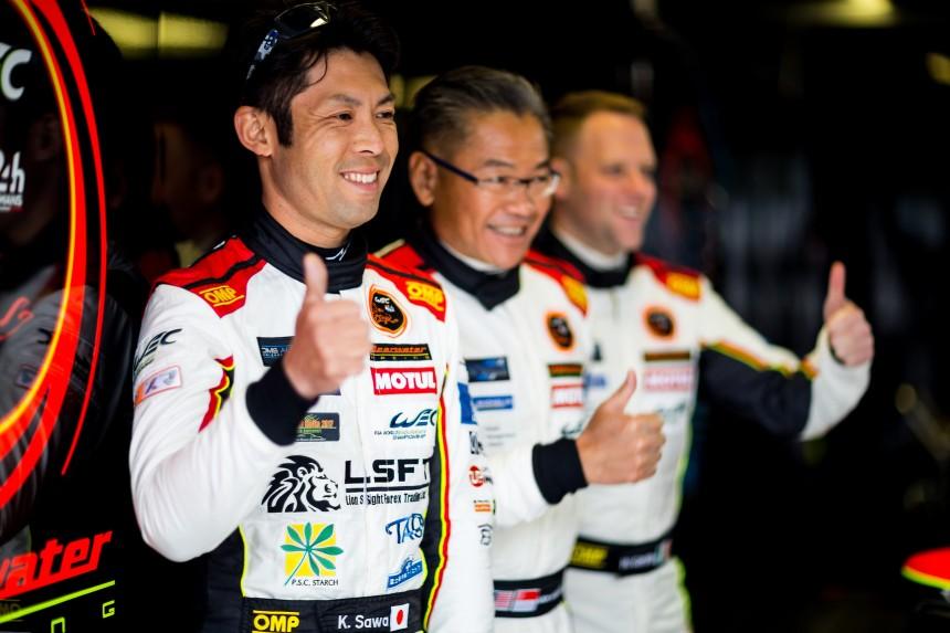 Practice 4 - #61 CLEARWATER RACING / SGP /  Ferrari 488 GTE /  Weng Sun Mok (MYS) / Keita Sawa (JPN) / Matthew Griffin (IRL) - Prologue Monza - Autodromo Nationale Monza - Monza - Italia