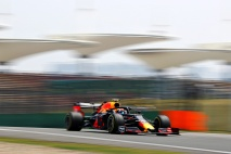 SHANGHAI, CHINA - APRIL 12: Pierre Gasly of France driving the (10) Aston Martin Red Bull Racing RB15 on track during practice for the F1 Grand Prix of China at Shanghai International Circuit on April 12, 2019 in Shanghai, China. (Photo by Mark Thompson/Getty Images) // Getty Images / Red Bull Content Pool // AP-1YZQFRKAH2511 // Usage for editorial use only // Please go to www.redbullcontentpool.com for further information. //